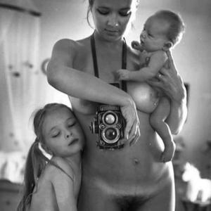 dochter, vrouw, moeder, fotograaf