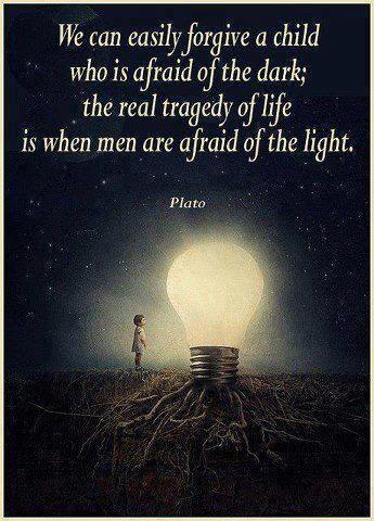 afraid light