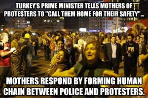 turkish mothers